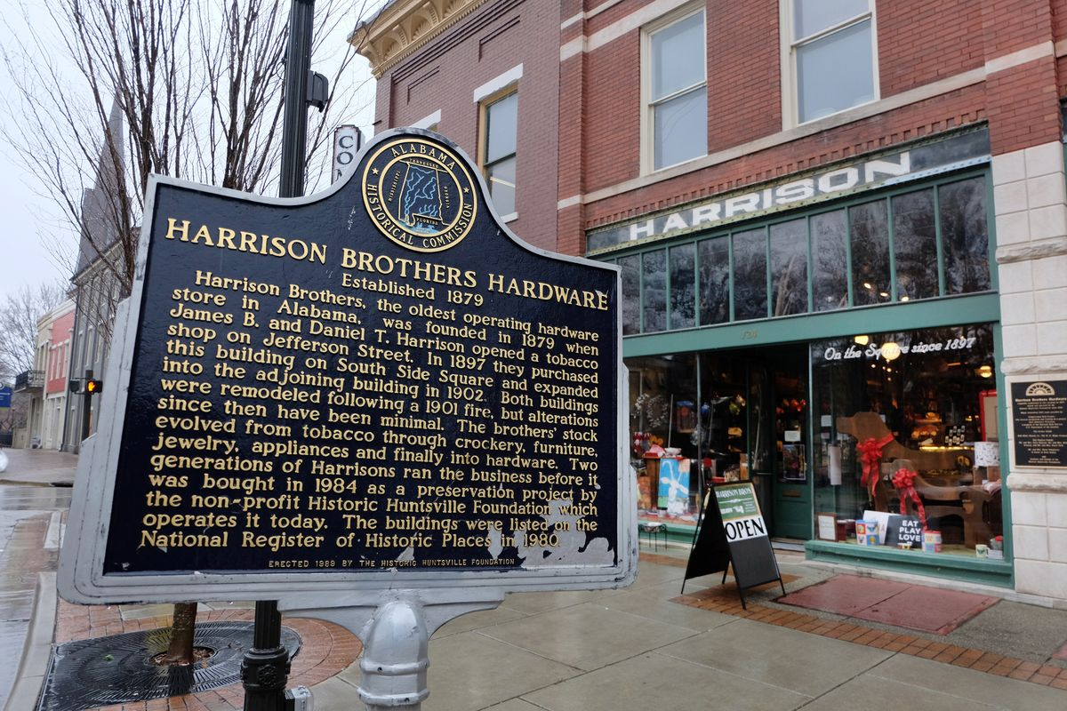 Huntsville, Harrison Brother's Hardware Store